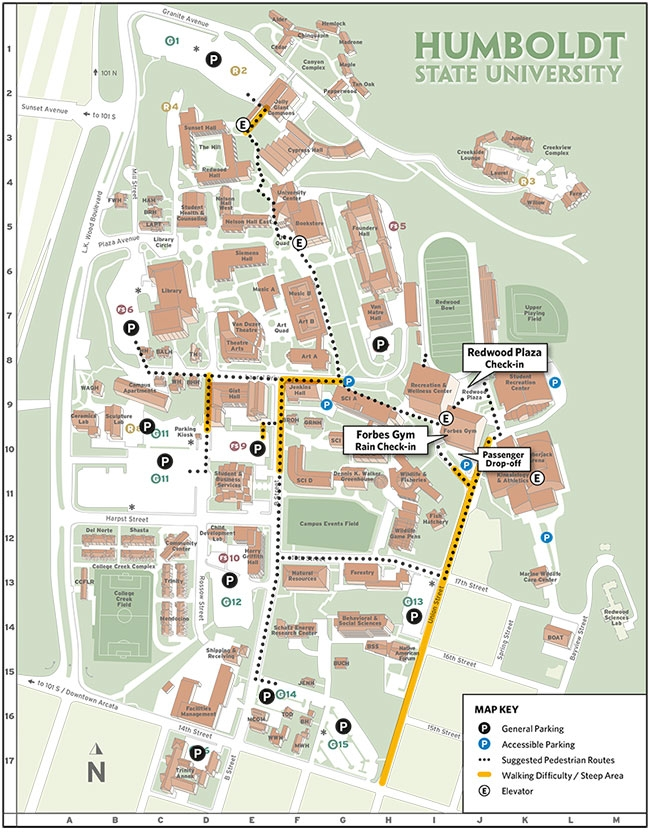 Preview Parking & Check-in | Office of Admissions